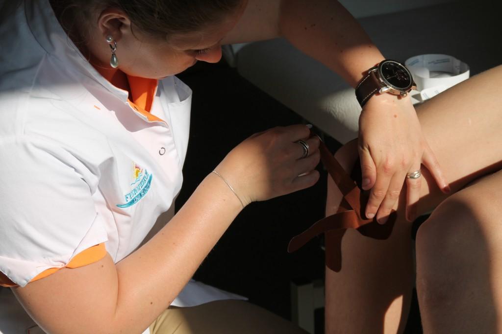 Medical Taping aanbrengen